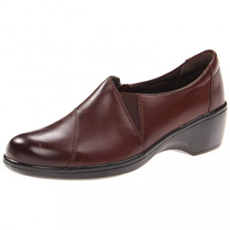 Clarks Women's May Orchid Brown Bendable Pump