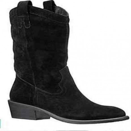Arturo Chiang Women's Rossa Black Suede Boot