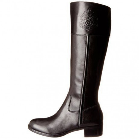 Franco Sarto Women's Canyon Black Leather Boots