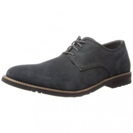 Rockport Men's Ledge Hill 2 Plaintoe Oxford Grey Suede