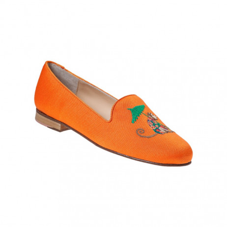 Monkey Orange Jon Josef Loafer Flat