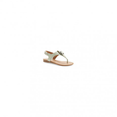 Franco Sarto Women's Gita Mint Leather Flat Sandal