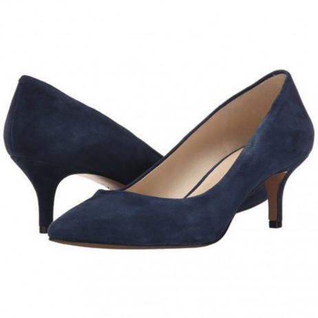 Xeena Navy SuedeNine West Pump