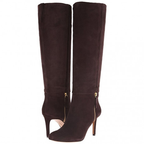 Nine West Women's Vintage Brown Suede Leather Boot