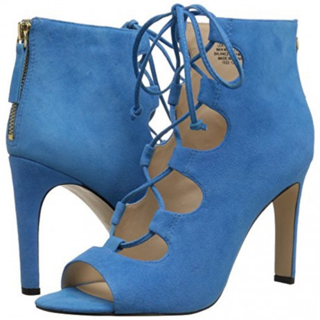 Unforgettable Turquoise Suede Nine West