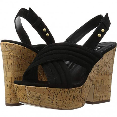 Charlize Black Suede Alice and Olivia