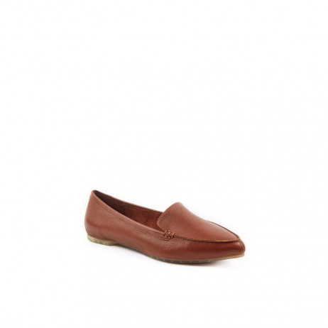 Audra Luggage Me Too Leather Loafer Flats