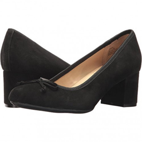 Lily Black Suede Me Too