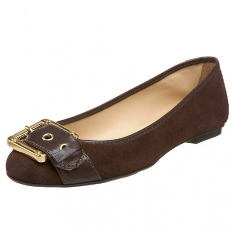 Wiffle Brown Suede FS/NY Flat
