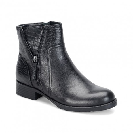 Val Black Comfortiva Ankle Boot