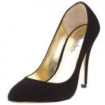Pompadour Black Suede Charles David Pumps