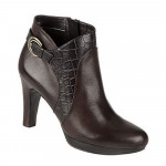 Naturalizer Women's Illy Brown Leather Bootie
