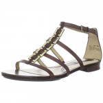 Naturalizer Women's Farah Brown Leather Sandal