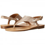 Franco Sarto Women's Grip4 Natural Leather Flat Sandal