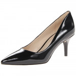 Nine West Women's Margot Black Patent Pump