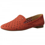 Luella Orange Nine West Leather Flats