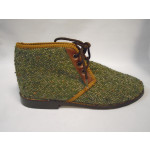 Green tweed Resipsa Chukka Ankle Boot