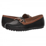 Drive Along Black Tan Combo Aerosoles Loafer-Black-6-M-Aerosoles