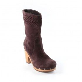 Annaliza Chocolate Brown Suede UGG Boots