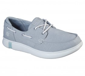 On the Go Glide Ultra Cruising 136151 Gray Skechers Boat Shoes