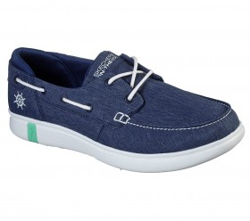 On the Go Glide Ultra Cruising 136151 Navy Skechers Boat Shoes