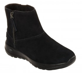 15515 Black On the Go Joy - Goldy Skechers Winter Ankle Boot