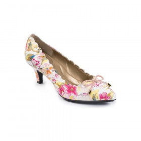 Caprice Floral Leather Me Too Pumps