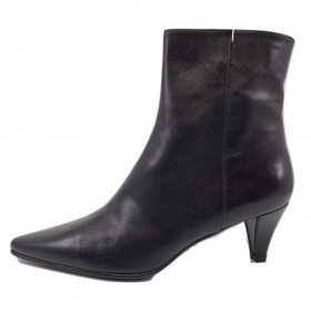 Mars Cola Brown Leather Stuart Weitzman Ankle Boots