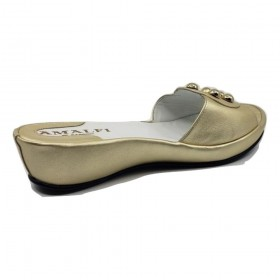 Bressa Platino Rocky Leather Amalfi Sandals