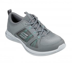23747 Gray Mint Without a Case Skechers Sneakers
