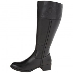 Canyon WS Wide Calf Black Franco Sarto Riding Boot