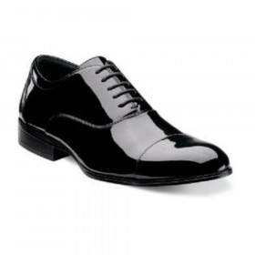 Gala Blk Pat Stacy Adams Men
