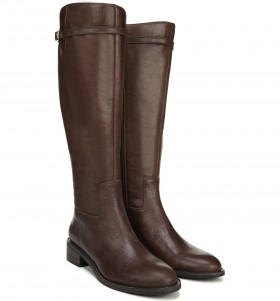 Belaire Brown Leather Franco Sarto Boots