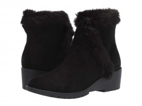Noble Black Suede Me Too Ankle Boots