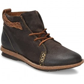 Temple Dark Grey Born Ankle Boots