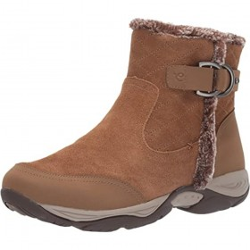 Ember Medium Brown Suede Easy Spirit Weather Ankle Boots