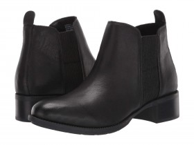 Shane Black Leather Me Too Ankle Boots