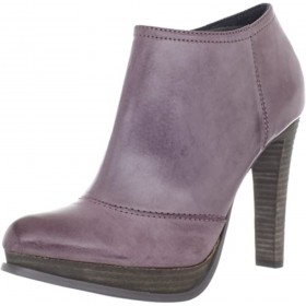 Tal Brush Off Leather Berry Calvin Klein Jeans Ankle Boots