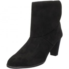 Angel Black Suede Amalfi Ankle Boots