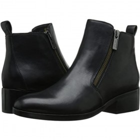 Allen Black Leather Cole Haan Ankle Boot