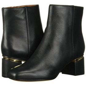 Marquee Green Leather Franco Sarto Ankle Boot