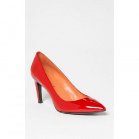 Via Spiga Womens Harrietta Red Patent Leather Pumps