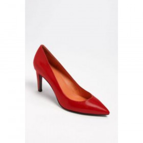 Via Spiga Harrietta red leathe