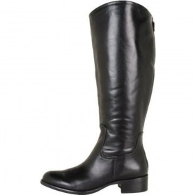 Franco Sarto Women's Crane Black Leather Boot Regular Shaft