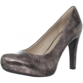 Franco Sarto Women's Cicero Pewter Leather Pumps