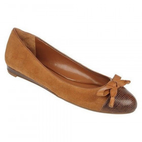 Franco Sarto Women's Amber Beewax Suede Flat