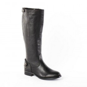 Arturo Chiang Women's Fierce Black Leather Boots