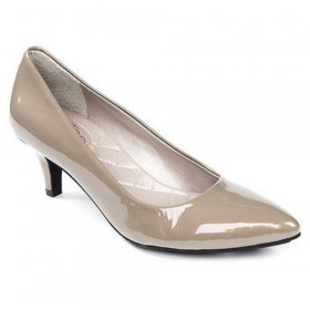 Me Too Women's Celine Cement Patent Leather Pump