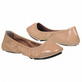 Me Too Women's Metro Driftwood Nappa Leather Flat