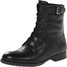 Palmer Black Franco Sarto Ankle Boot